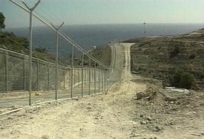 Hraniční plot - Španělsko