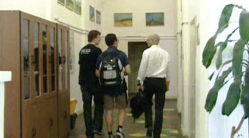 Na chodbách gymnázia Pod Vyšehradem
