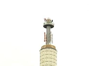 Žižkovský vysílač bez antén