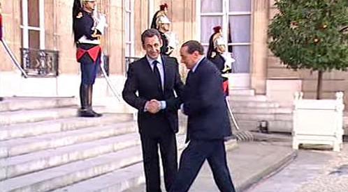 Francouzský prezident a italský premiér