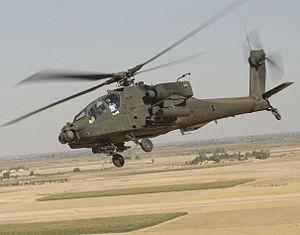 Americký vrtulník Apache
