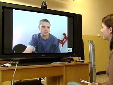Vyučování přes webkameru