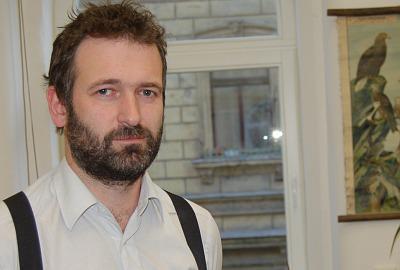 Zástupce ČSO Petr Voříšek