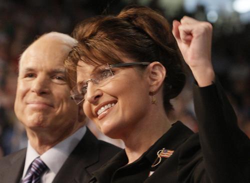 John McCain a Sarah Palinová