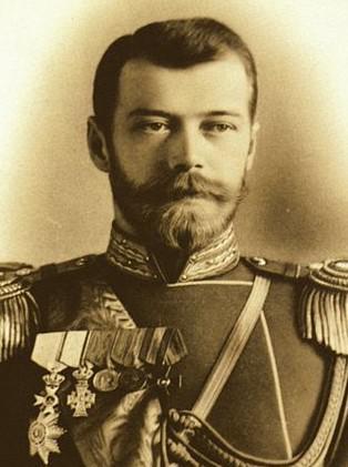 Poslední ruský car Mikuláš II.