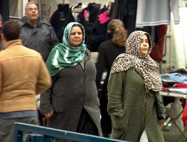 Muslimky na tržišti
