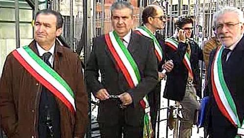 Protest jihoitalských starostů