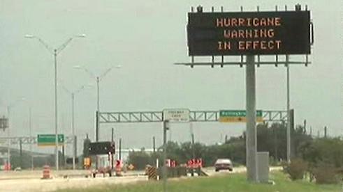 Varování před hurikánem