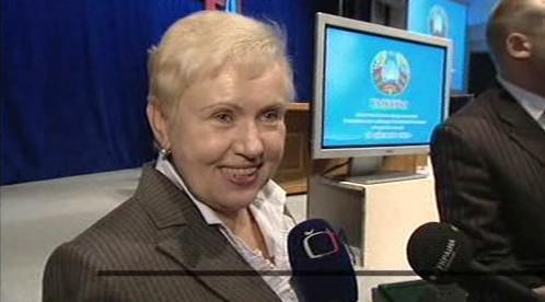 Předsedkyně ústřední volební komise v Bělorusku