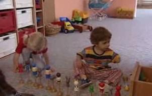 Děti v mateřské školce