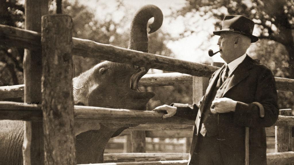 Profesor Jiří Janda, zakladatel trojské zoo