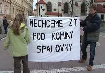 Protesty proti spalovně