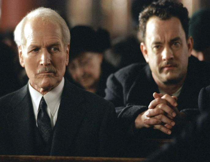 Paul Newman a Tom Hanks