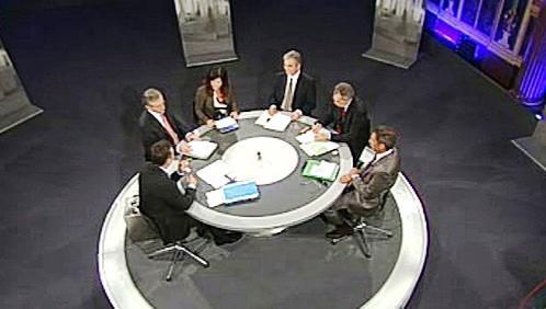 Předvolební debata v rakouské televizi