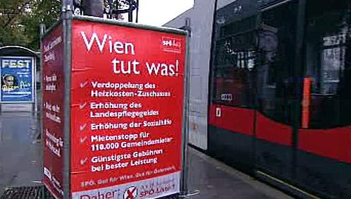 Předvolební kampaň V Rakousku