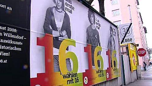 V Rakousku poprvé volí šestnáctiletí