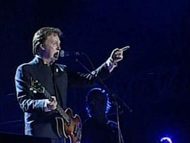 Paul McCartney v Tel Avivu