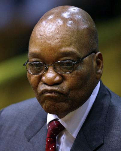 Prozatimní prezident Jihoafrické republiky Kgalema Motlanthe
