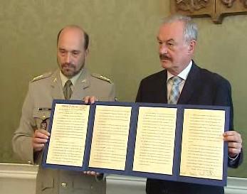 Kopie originálu mnichovské dohody