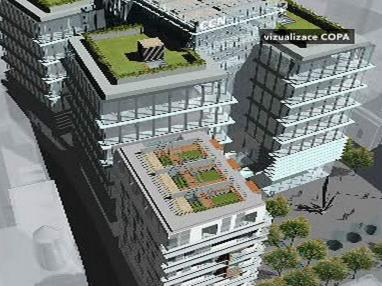 Projekt nového komplexu na Národní třídě