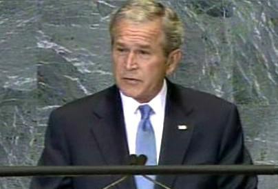 George Bush: <i>\