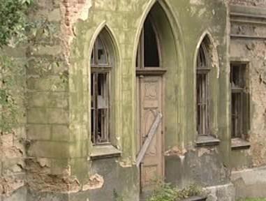 Novogotická kaple v Krásném Březně