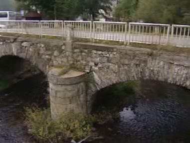 Kamenný most v Českém Krumlově