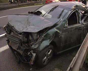 Nabouraný automobil