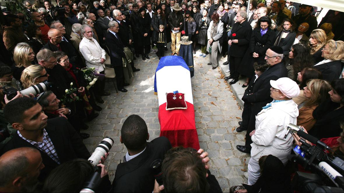 Pohřeb Marcela Marceau