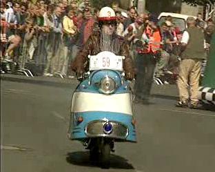 Motocykl - veterán