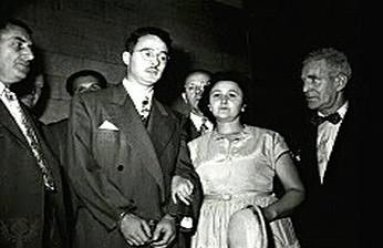 Julius a Ethel Rosenbergovi