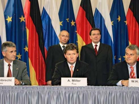 Schröder a Putin