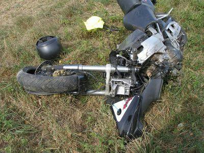 Vrak motorky
