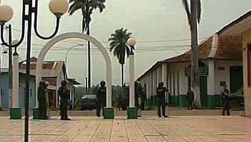 Bolivijská policie