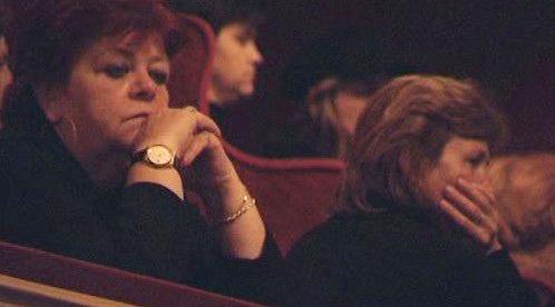 Pietní obřad v košickém divadle