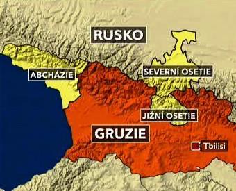 Separatistické regiony v Gruzii