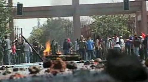 Demonstrace v Chile