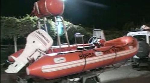 Turecký záchranářský člun