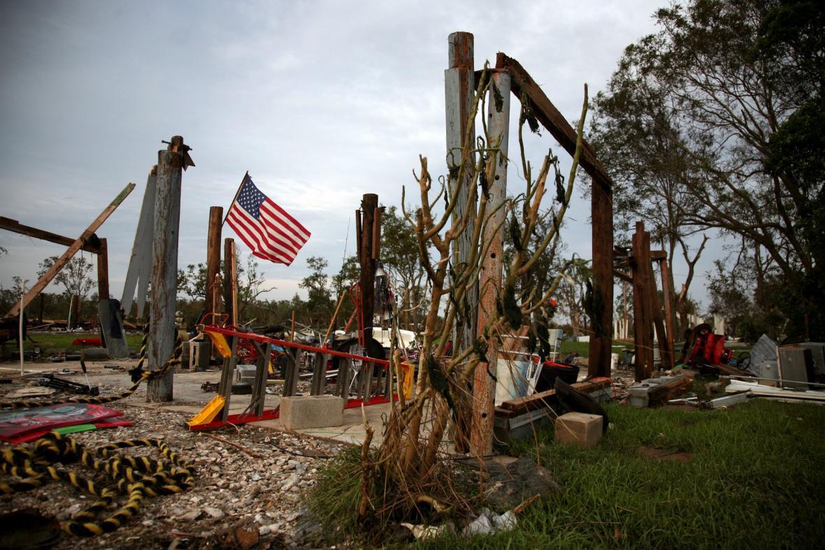 Následky hurikánu Ike