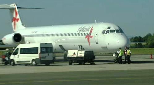 Letadlo norské společnosti Nordic