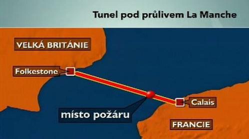 Tunel pod průlivem La Manche