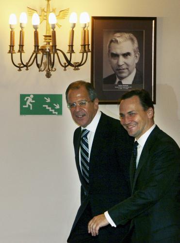 Ministři zahraničí Ruska a Polska