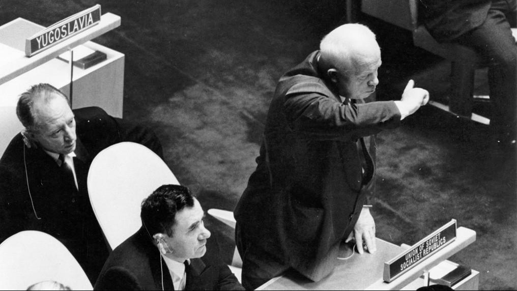 Nikita Chruščov v OSN