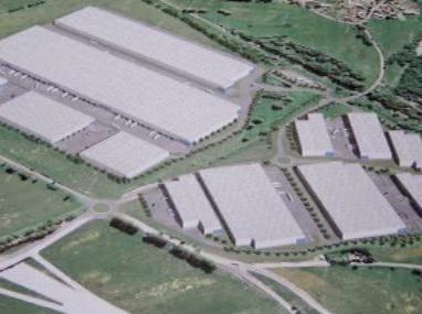 Projekt stavby průmyslových hal