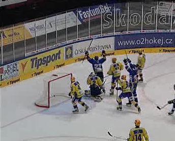 Hokejový zápas Tipsport Cupu
