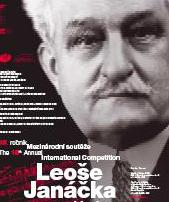 Plakát Mezinárodní soutěže L. Janáčka