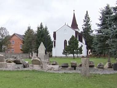 Starý německý hřbitov ve Kvildě