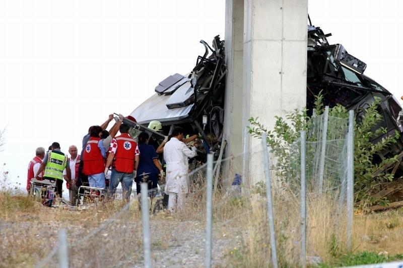 Nehoda slovenského autobusu