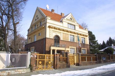 Budova velvyslanectví Alžírska v ČR