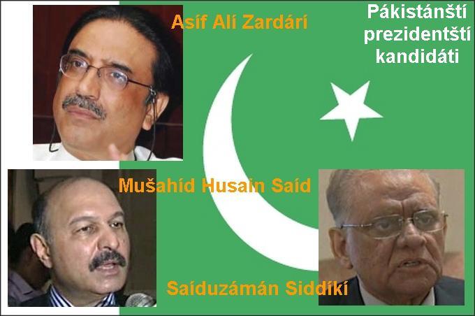 Pákistánští prezidentští kandidáti